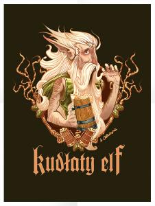 Kudłaty Elf