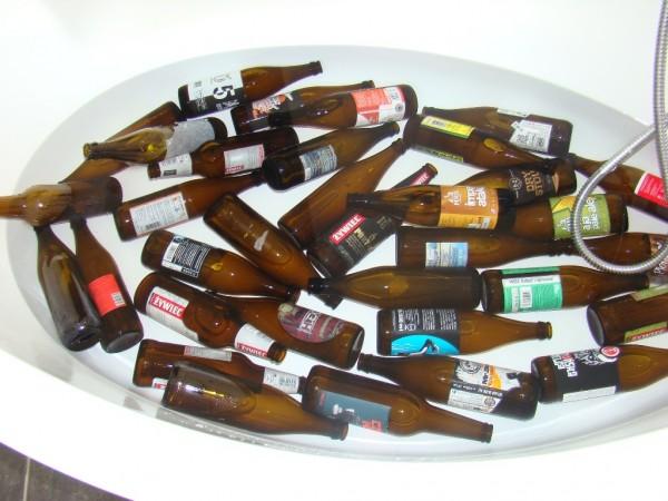 Warzenie piwa - butelki