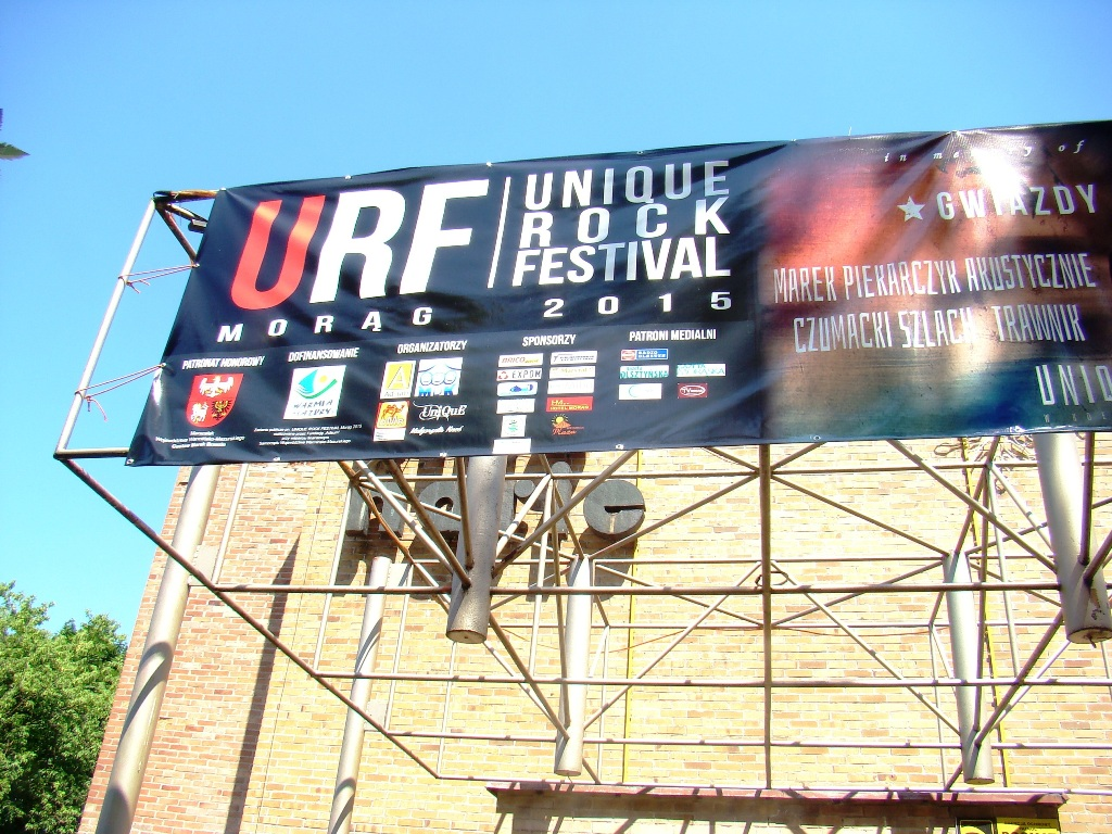 Unique Rock Festival Morag 2015