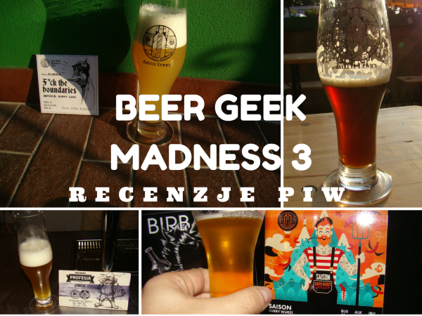 BEER GEEKMADNESS 3 recenzje piw