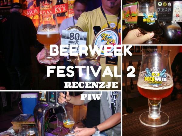 Beerweek festival 2 piwa