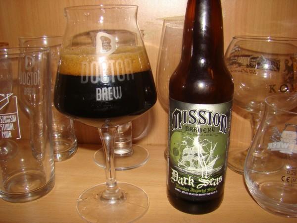 Mission Brewery Dark Seas