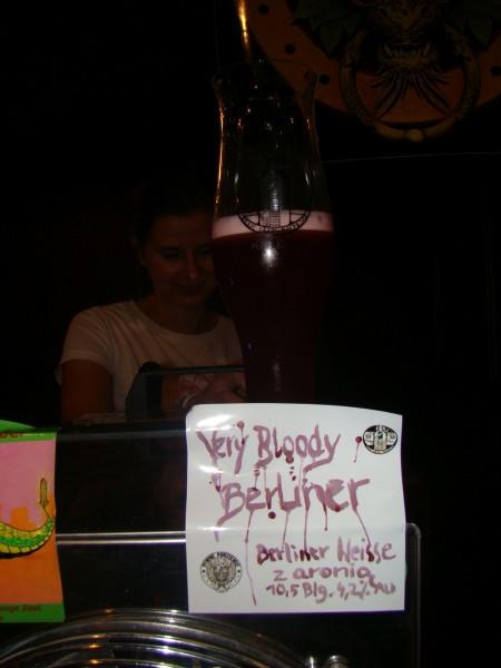 Piwne Podziemie Very Bloody berliner