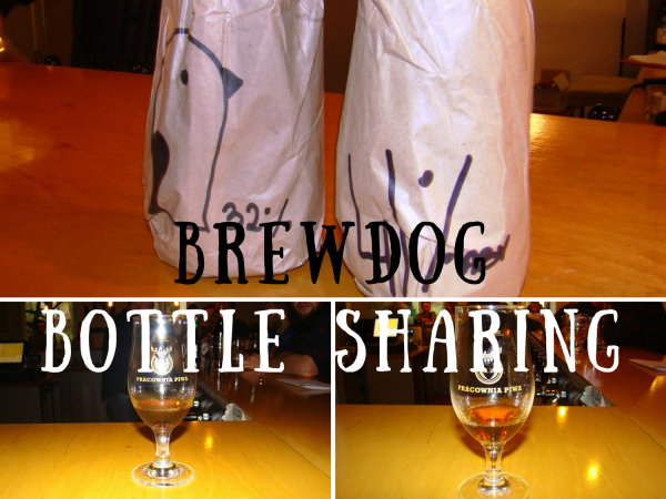 BrewDog Bottle Sharing title