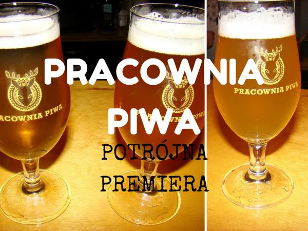 Pracownia Piwa trzy premiery title