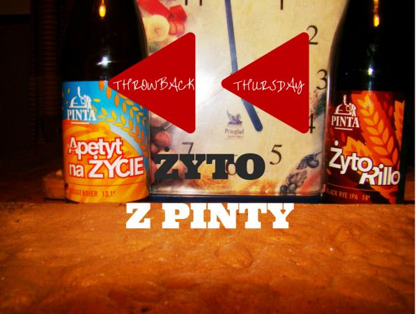 Throwback Thursday Pinta Zyto