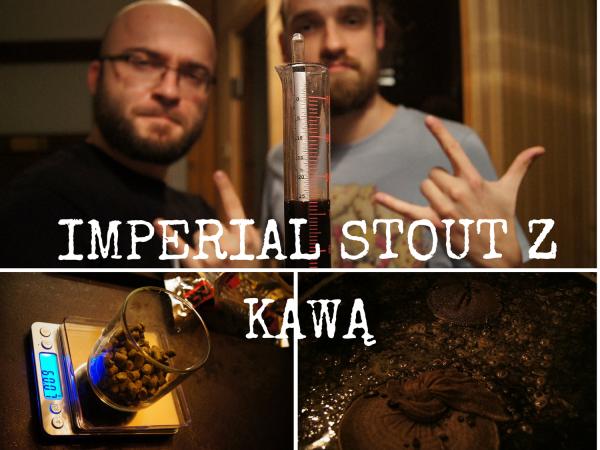 Imperial Stout zKawą