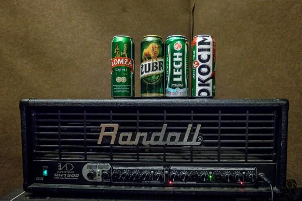 Niewielki test piw wzielonych puszkach