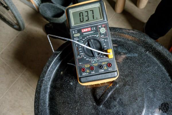 warzenie termometr