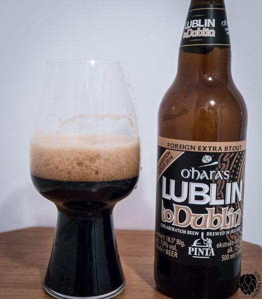 Lublin toDublin 2016 Pinta O'Haras