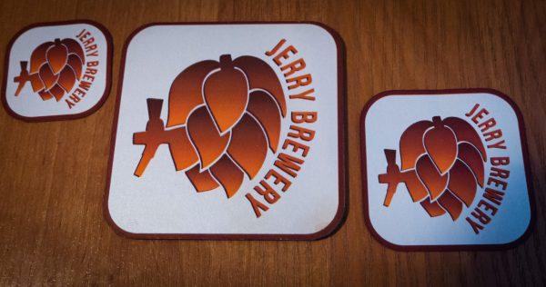Podkladka podpiwo Jerry brewery